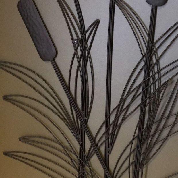 spiky bulrushes