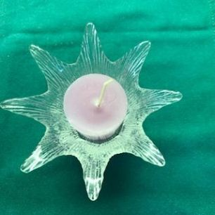 spiky candle holder
