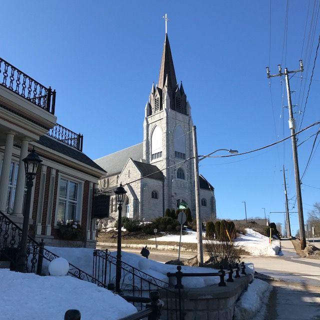 spiky church