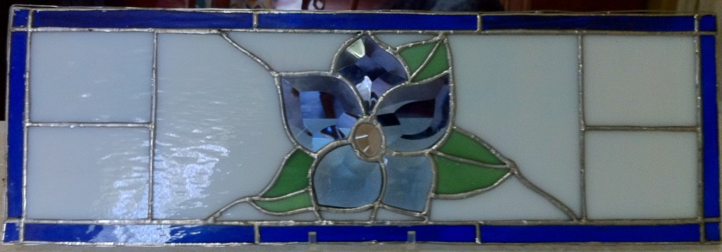 stained glass piece