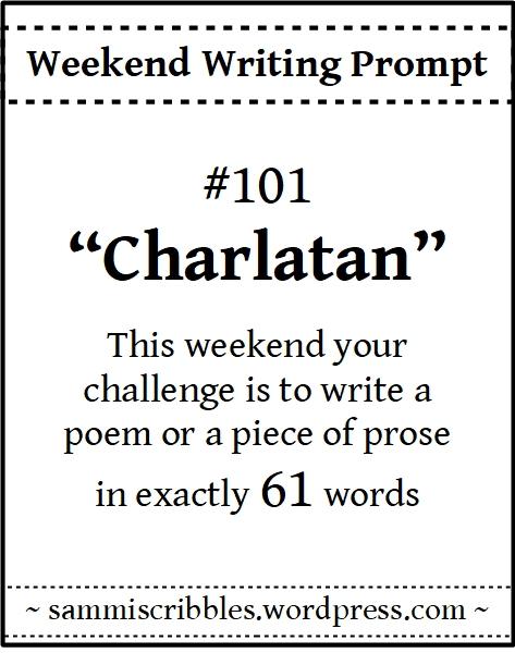 weekend writing prompt 101