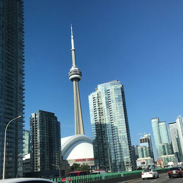Blues CN tower