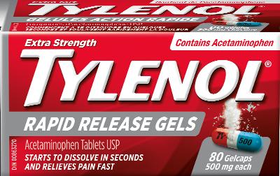 rapid release tylenol