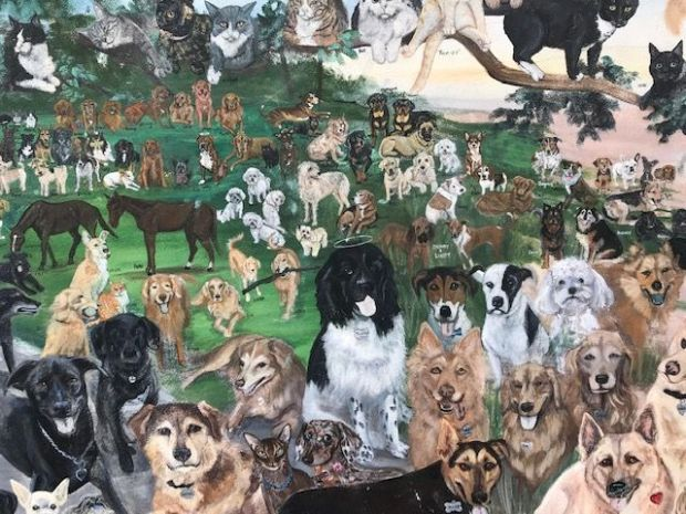 dogs wall 2