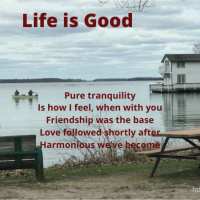 Life is Good #Tanka #Poetry